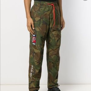 NWT MENS POLO SPORT LOOSE FITTING CAMO PANTS XXL